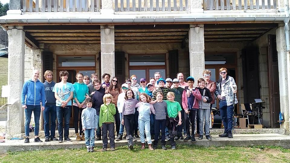 Camp musical à Monteret 2018
